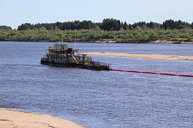 TITAN GROUP HAS INVESTED OVER 6.5 MILLION RUBLES IN OPERATIONAL DREDGING AT VERKHNETOEMSKY DISTRICT